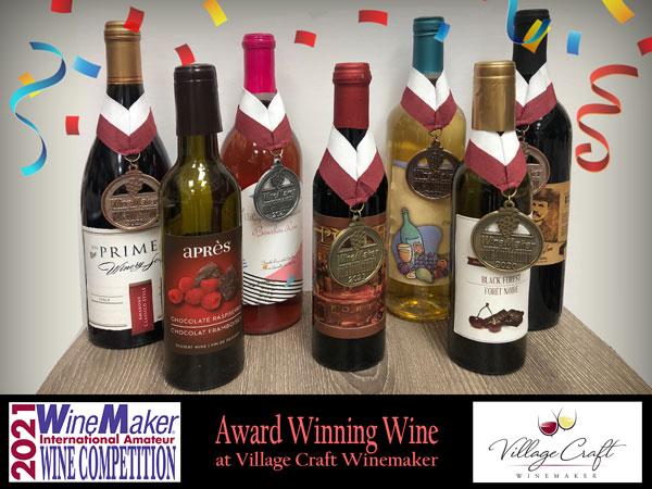 2021 Winemaker Competition - Award Winning Wine at Village Craft Winemaker