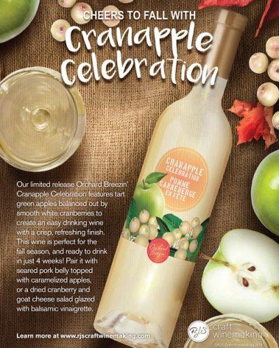 Village Craft Winemaker - Cranapple Celebration