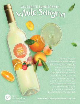 Village Craft Winemaker - Orchard Breezin' White Sangria